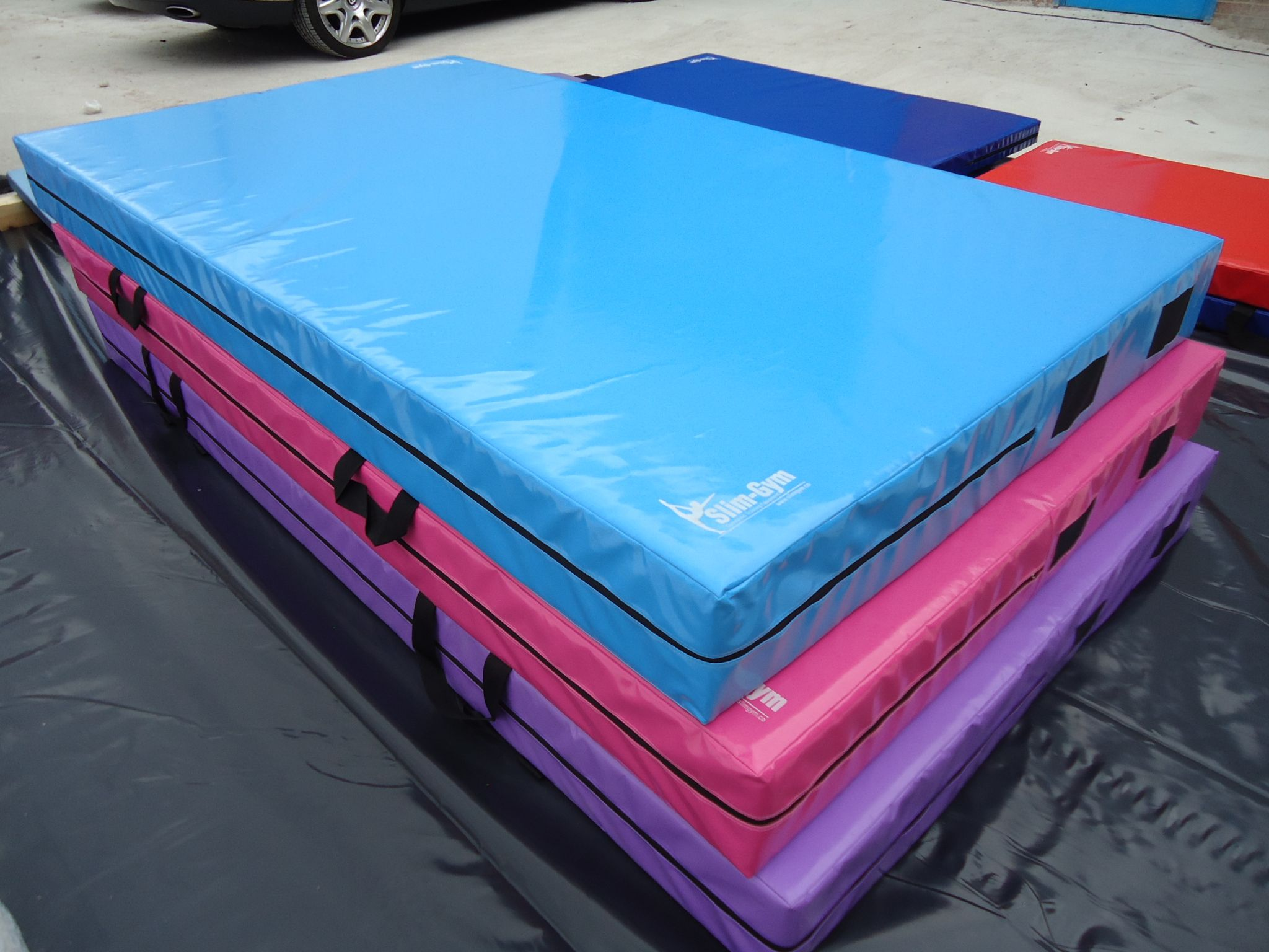 8ft X 4ft 6 X 10 Thick 610gsm Safety Matress Crash Mat